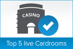 Top 5 Live Cardrooms
