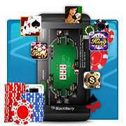 Playing Online Poker: BlackBerry Apps