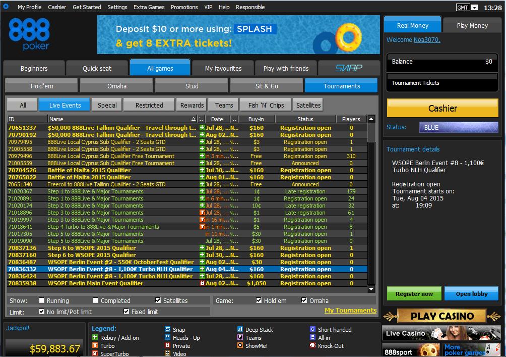 888 poker casino review