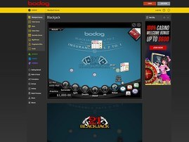 Bodog Poker BlackJack Table