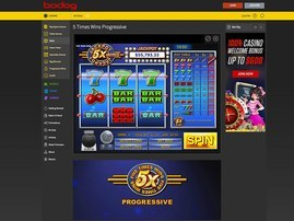 Bodog Slots Five Times Wins Progressive
