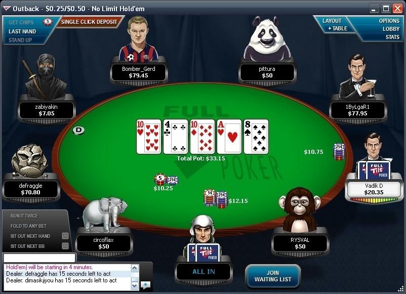Full tilt poker coming back site betclic poker
