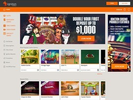 Ignition Poker Homepage