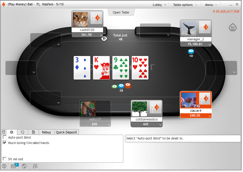 Free party poker games online open face chinese poker game