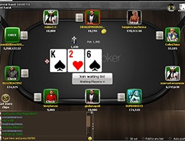 Part of the iPoker Network with software by Playtech