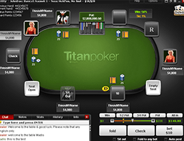 Titan Poker screenshot